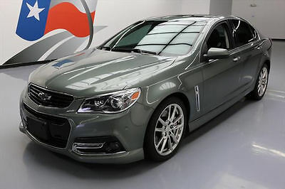 2014 Chevrolet SS Base Sedan 4-Door 2014 CHEVY SS VENT LEATHER SUNROOF NAV REAR CAM HUD 44K #958445 Texas Direct