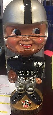 Old Oakland Raiders Afl Nodder Bobble Head