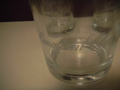 A Pair Of Canadian Club Whiskey  Rock Glasses