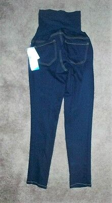 NWT OH BABY by MOTHERHOOD - SZ MED SKINNY LONG BOTTOMS  MATERNITY $58 CAPRIS FUT