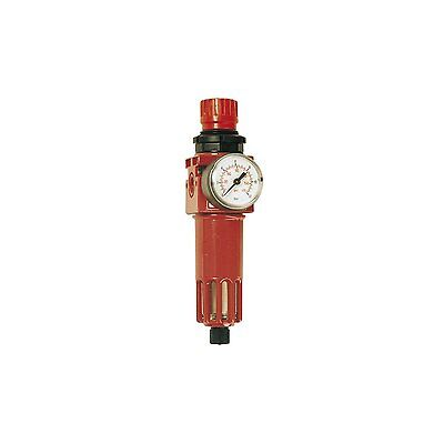 Elmag Compressed Air Filter Pressure Regulator with Thread, 1/2 Inch Connection,