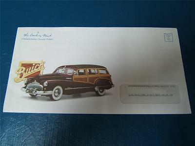 Danbury Mint 1/24 1947 Le Buick Roadmaster Wagon , 5-Piece Sales Brochure Only .