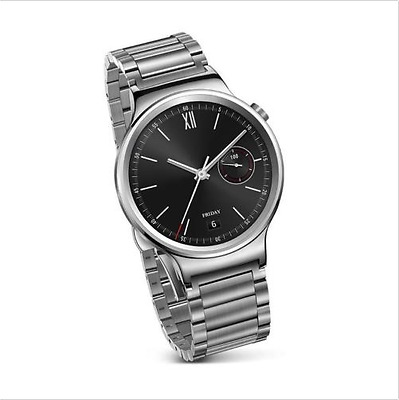 Huawei W1 Smart Watch Stainless Steel with Link Band - Free Postage