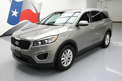 2017 Kia Sorento LX Sport Utility 4-Door 2017 KIA SORENTO LX V6 7-PASS REAR CAM PWR LIFTGATE 36K #189085 Texas Direct