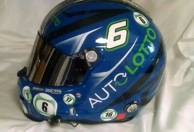 """""""bubba """" Wallace ,2016 Race Used Nh. Stilo Helmet, Snell 2015 With Full Radio"""