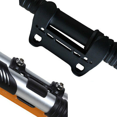 Compact Bike Bicycle Cycling Air Pump Inflator Fixing Frame Holder Mount Clip