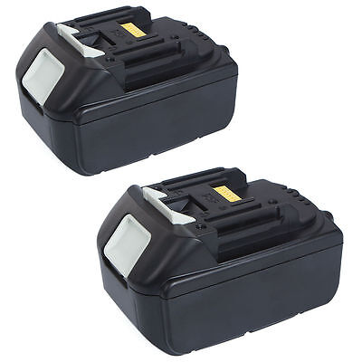 2x 4.0AH 18V Battery For Makita BL1840 BL1830 BL1815 LXT Lithium Ion Cordless AU