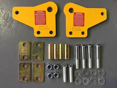 Heavy Duty Rated Recovery Tow Point Pair For Toyota Hilux 2005-2015 Rated 5000KG