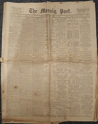 The morning post London edition January 16 1929