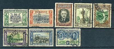 1940 Southern Rhodesia stamps: 50th Anniv. British South Africa, full set; Used