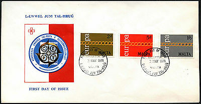 Malta 1971 Europa FDC First Day Cover #C42651
