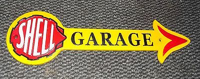 Superb Heavy Cast Iron Shell Garage Advertising Sign