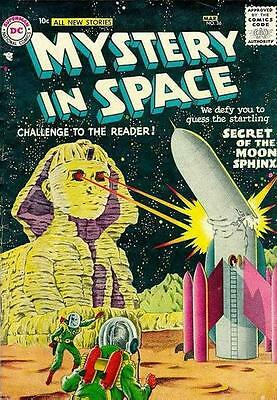 Mystery In Space 36 Dc 10 Cents American Comic + Free Helium Balloon