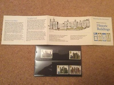 British Post Office Mint Stamps - Historic Buildings