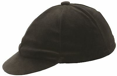 Hy Velvet Riding Hat Cover Black/ Navy One Size Fits All 549P