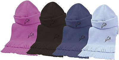 Hy Matching Fleece Hat & Scarf Set- 3 Colours One Size 806P