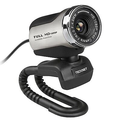 NEW*CHEAP*TeckNet® 1080P HD Webcam with Built-in Microphone