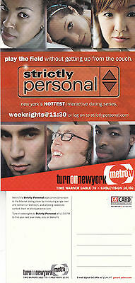Tv Interactive Dating Show Strictly Personal Metro Advertising Colour  Postcard