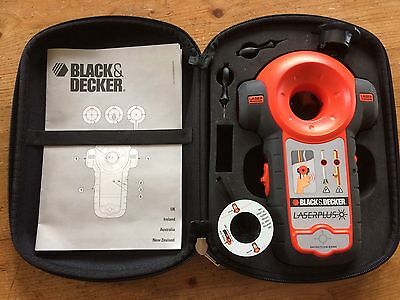 Black & Decker LaserPlus- Detects Live Wires & Pipes, And Projects Laser Lines