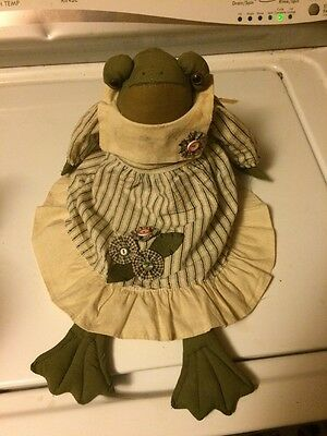 Decorative Stuffed Frog