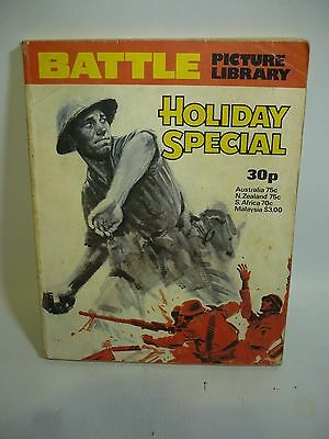 1977 Battle Picture Library Holiday Special - 3 Long Stories