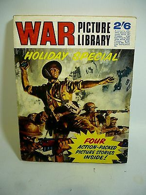 1969 War Picture Library Holiday Special - 4 Long Stories