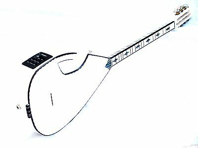 Ank :: Turkish Half Cut  Electric Short Neck Saz Baglama Equ W/ Free Belt  !!!!