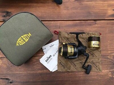 DIAWA 3000C SS II SPINNING REEL MINT CON, Soft Case and Reel Bag