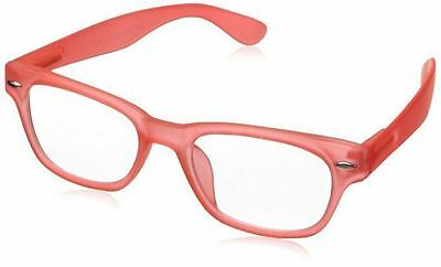 NEW Peepers Reading Glasses Strength +2.50 Happy Hour Pink