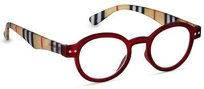 NEW Peepers Reading Glasses Strength +2.25 Style Sixteen - Red