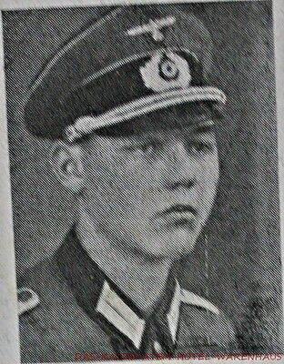 1944 German LT Death Card Top Photo Nikopol East  FREE  UN-INSURED SHIPPING