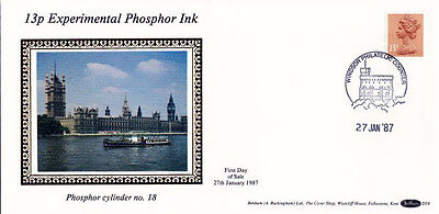 27 JANUARY 1987 13p DEFINITIVE VALUE BENHAM D59 FDC WINDSOR SHS