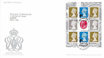 8 May 2010 Festival Of Stamps Booklet Pane Rm First Day Cover London N1 Shs