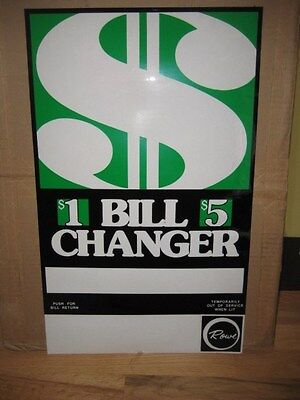 Rowe Bill Changer Decal for BC-1400
