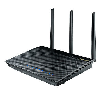 ASUS RT-AC66U Wireless AC1750 Gigabit Dual Band Router - NEW