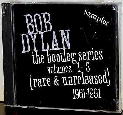 COLUMBIA / SONY PROMO CD CSK-3081: Bob Dylan Bootleg Series Vol 1-3 Sampler 1991