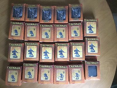 Dungeons and Dragons Chainmail - 23 Figures Boxed, , New And Sealed