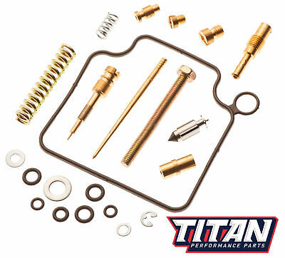 Titan OEM Quality Carb Carburetor Rebuild Repair Kit Honda TRX 350 Rancher 00-03