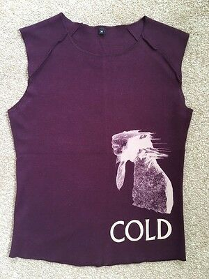 Official Coldplay sleeveless t-shirt from Rush of Blood to the Head tour