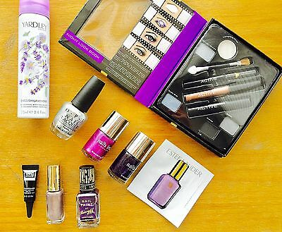 Make Up Beauty Job Lot Bundle OPI Nails Inc Yardley L'Oréal  - All in photos