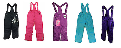 NEW Weatherproof 32 Degrees Girl's Ski/Boarder Suspender Snow Pants - VARIETY