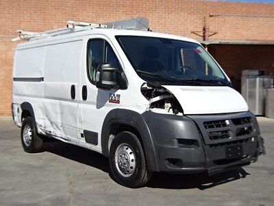 2016 Dodge Promaster Cargo Van 1500 Low Roof 2016 Dodge RAM Promaster Cargo Van Wrecked Repairable Perfect Work Van Must See!