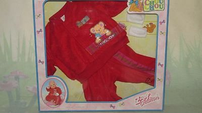 Zapf Creation 721223 Chou Chou Clothes Jogging de luxe Set red NEW