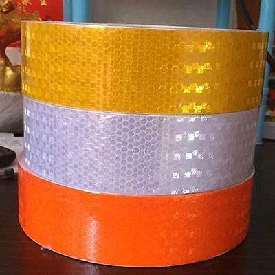 Sale Hi-Vis 50MM x 40 Meters Roll Adhesive Vehicle Reflective Safety Tape