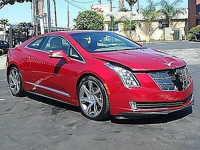 2014 Cadillac ELR Luxury with Adaptive Cruise Control 2014 Cadillac ELR Hatchback Wrecked Repairable Only 17K Mi Loaded w Options L@@K