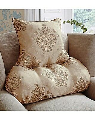 New DAMASK BACK SUPPORT Cushion By House Of Bath