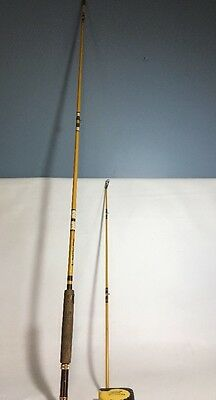 Vintage Eagle Claw Wright & McGill Fly Rod -Deluxe- 8.5 Ft Model M4A. 2 Piece