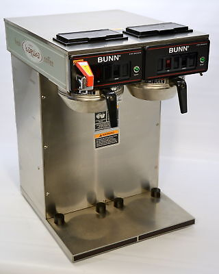 Bunn CWTF TWIN-APS Pourover Airpot Coffee Brewer Commercial Dual APS 23400.0041
