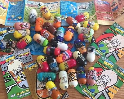 36 x Mighty Beanz -Bundle/Job Lot Jumping Beans Lucky Dip Party Bag Toys