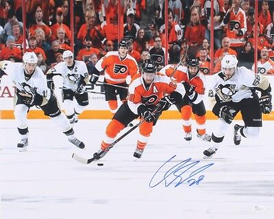 Claude Giroux Flyers 16x20 Signed/Autograph with COA
